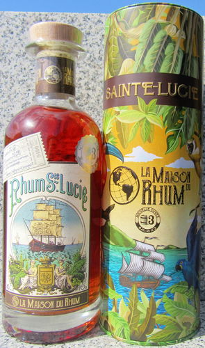 "La Maison Du Rhum - Sainte Lucie 2012/20 ""Batch No. 3"""