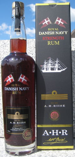 A.H. Riise Royal Danish Navy Strength