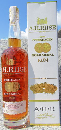 A.H. Riise 1888 Gold Medal Premium Rum
