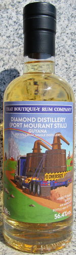 "Diamond Distillery (Port Mourant Still) 11 Jahre. (That-Boutique-Y Rum Company) ""Batch 2"""