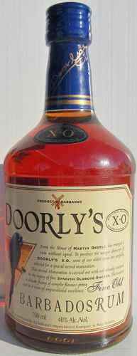"Doorly's ""Fine Old XO Rum"""