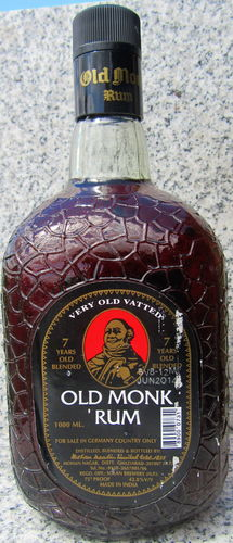 "Old Monk Rum 7 Jahre ""Very Old Vatted"""