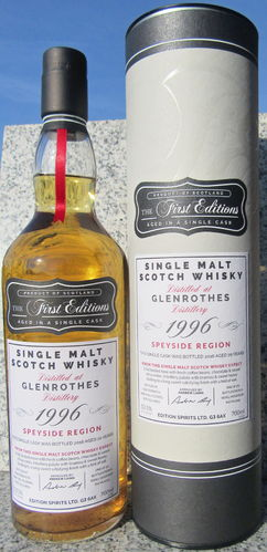 "Glenrothes 1996/16 (Edition Spirits) ""First Editions"""