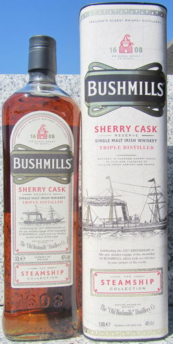 "Bushmills ""Steamship Collection"""