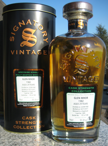 "Glen Mhor 1982/11 (Signatory) ""Cask Strength Collection"""