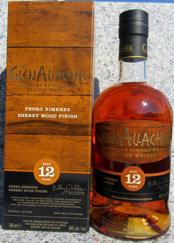 "GlenAllachie 12 Jahre ""PX Wood Finish"""