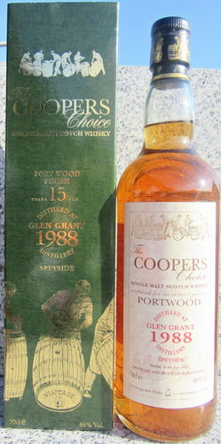 "Glen Grant 1988/03 (Vintage Malt Whisky) ""Coopers Choice"""