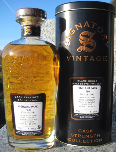 "Highland Park 1990/13 (Signatory) ""Cask Strength Collection"""