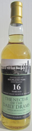Highland Park 2003/19 (Nectar of Daily Drams)