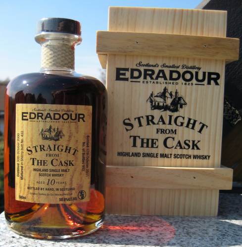 "Edradour 2000/11 ""Straigth from the Cask - Sherry Wood Matured"""