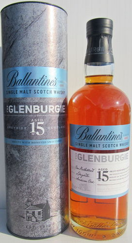 "Glenburgie 15 Jahre ""The Ballantines Series No. 001"""