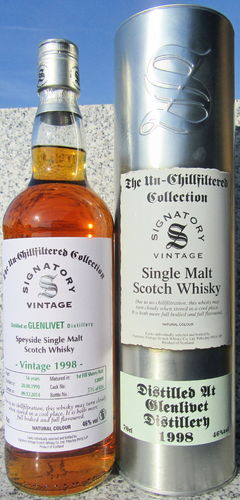 "Glenlivet 1998/14 (Signatory) ""Un-Chillfiltered Collection"""