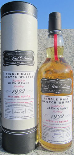 "Glen Grant 1992/17 (Edition Spirits) ""First Editions"""