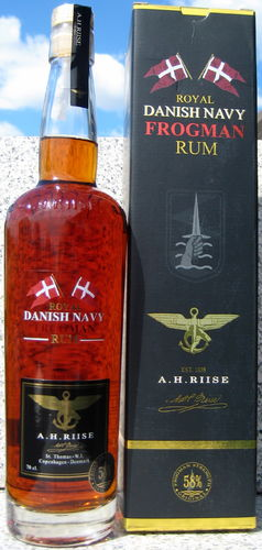 A.H. Riise Frogman Navy Rum